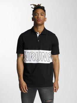 Wrung Division Poloskjorter Sport svart