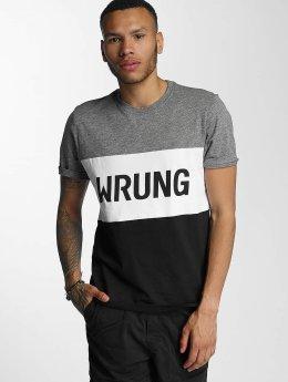 Wrung Division T-Shirt Russell noir