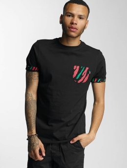 Wrung Division T-Shirt Kickin' It noir