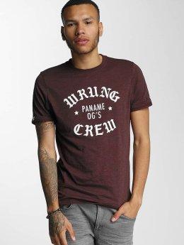 Wrung Division t-shirt DA Crew rood