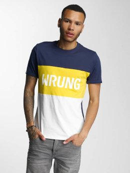 Wrung Division T-Shirt Russell weiß