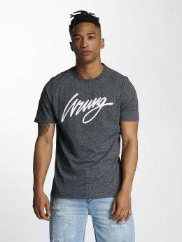 Wrung Division t-shirt Signature zwart