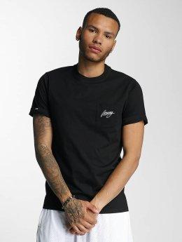 Wrung Division t-shirt Black Sign zwart