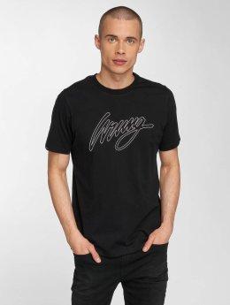 Wrung Division t-shirt Outline zwart
