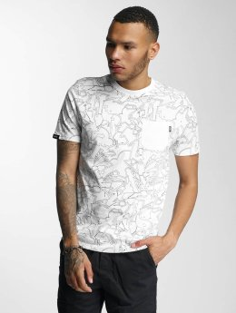 Wrung Division T-shirts Freestyle Dize hvid