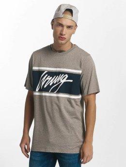Wrung Division T-skjorter Show grå