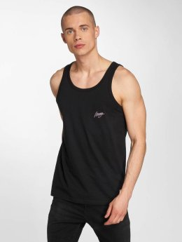 Wrung Division Tank Tops Beach black