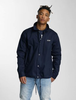 Wrung Division Transitional Jackets Coach Snap blå