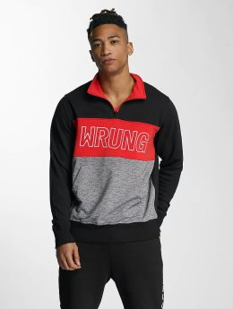 Wrung Division trui Rushmore zwart