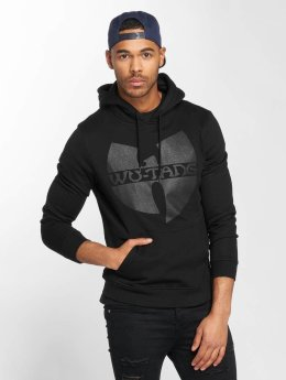 Black Logo Hoody Black