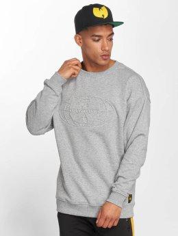 Wu-Tang Pullover Embossed grau