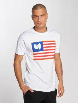 Wu-Tang T-paidat Flag valkoinen