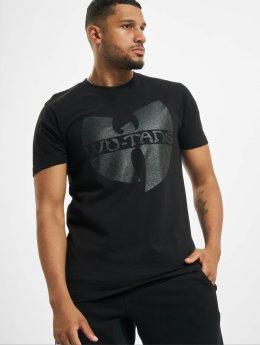 Wu-Tang T-skjorter Black Logo svart