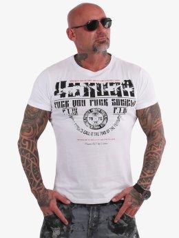 Yakuza Camiseta Fuck You blanco