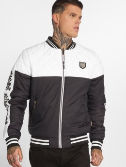 Yakuza Chaqueta de entretiempo Other Side Quilted Two Face blanco