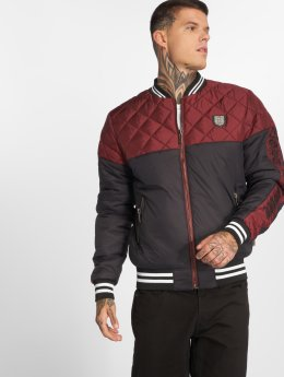 Yakuza Chaqueta de entretiempo Other Side Quilted Two Face rojo