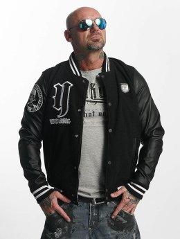 Yakuza College Jacket Cross Bones black