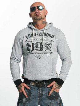 Yakuza Hoodie 893 Union grå