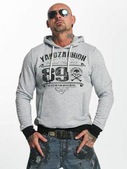 Yakuza Hoodies 893 Union grå