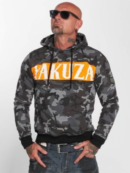Yakuza Hoody Military Flag camouflage