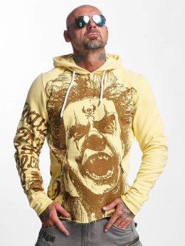 Yakuza Hoody Allover King geel