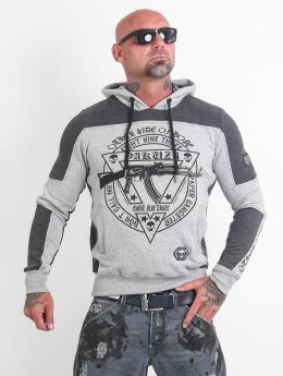 Yakuza Hoody AK893 Two Face grau