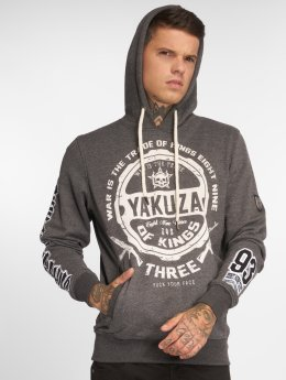 Yakuza Hoody Trade Of Kings grijs