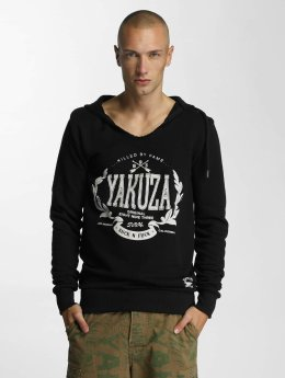 Yakuza Hoody Killed By Fame zwart