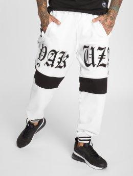 Yakuza Joggebukser Skull V02 hvit