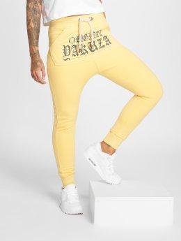 Yakuza joggingbroek Everyday Pouch geel