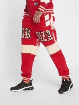 Yakuza joggingbroek Skull V02 rood