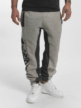 Yakuza Jogginghose Two Face grau