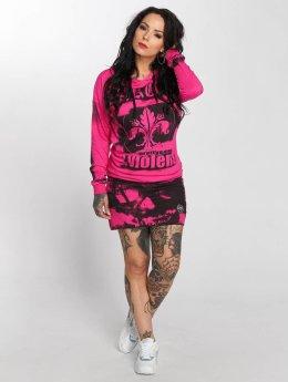 Yakuza Kleid MPV Hooded pink