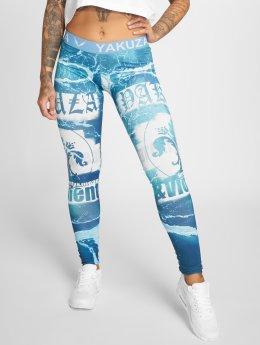 Yakuza Legging Poseidon turquoise