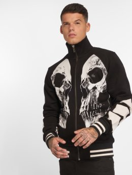 Yakuza Lightweight Jacket Skull V02 black