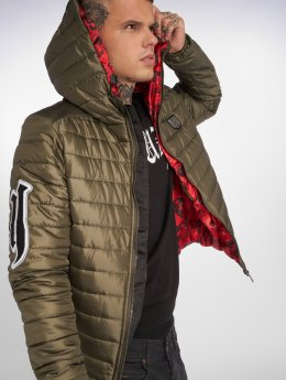 Yakuza Manteau hiver Eight Quilted vert