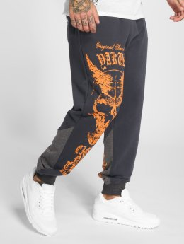 Yakuza Pantalón deportivo Demon Two Face gris