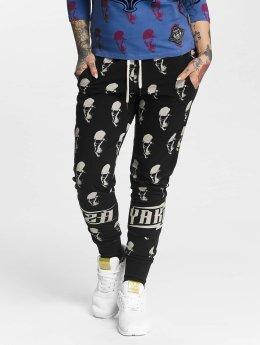 Yakuza Pantalón deportivo Allover Skull negro