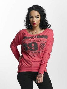 Yakuza Pitkähihaiset paidat 893 Union vaaleanpunainen
