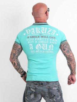 Yakuza Poloshirt Pretty Far turquoise