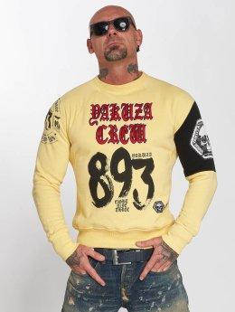 Yakuza Pullover 893 Jumper gelb