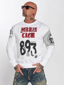 Yakuza Pullover 893 Jumper weiß