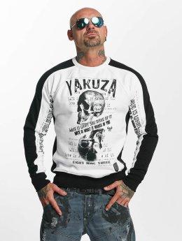 Yakuza Pullover Love Hate white