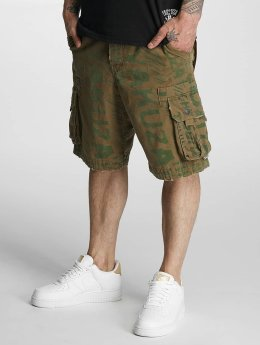 Yakuza Short  Allover brun