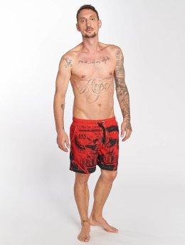 Yakuza Short de bain Trojan rouge