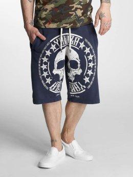 Yakuza Shorts Skull Label blau