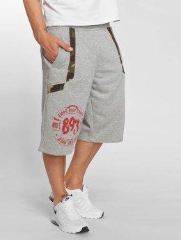 Yakuza Urban Sweat Shorts Light Grey Melange