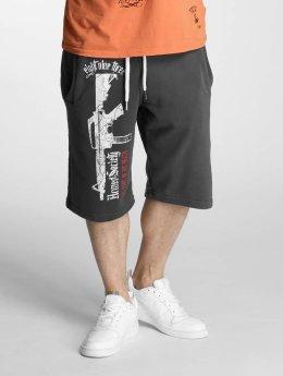 Yakuza shorts Armed Society grijs