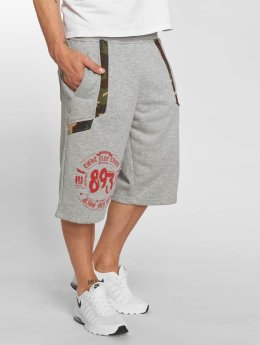 Yakuza Shortsit Urban Sweat harmaa