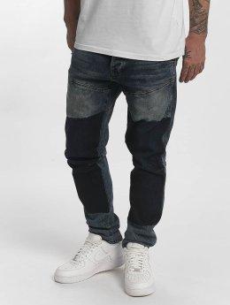 Yakuza Straight Fit farkut Straight Fit Jeans indigonsininen